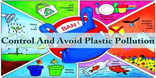 Control And Avoid Plastic Pollution