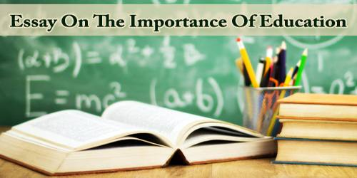 Essay On The Importance Of Education