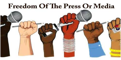 Freedom Of The Press Or Media (Paragraph)