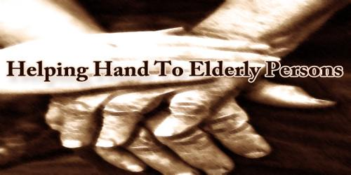 Helping Hand To Elderly Persons