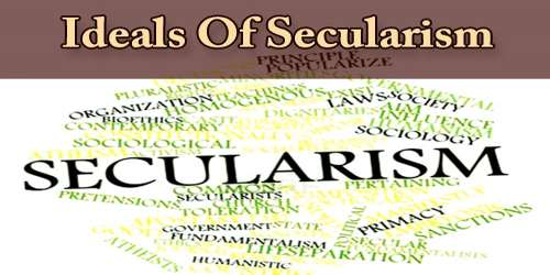Ideals Of Secularism