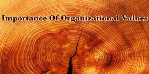 Importance Of Organizational Values