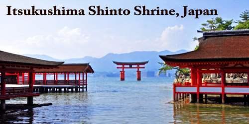Itsukushima Shinto Shrine, Japan