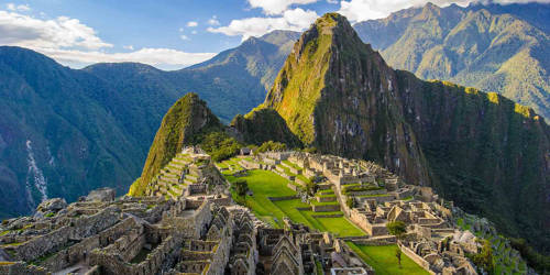 Machu Picchu in Peru – a World famous Archaeological Site