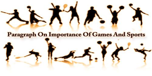 Paragraph On Importance Of Games And Sports