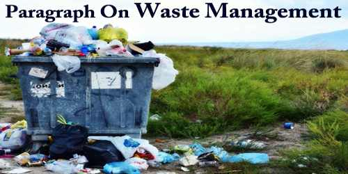 Waste Management (Paragraph)