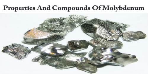 Properties And Compounds Of Molybdenum