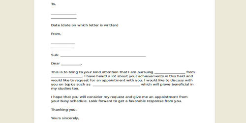 Sample Response to the Appointment Letter