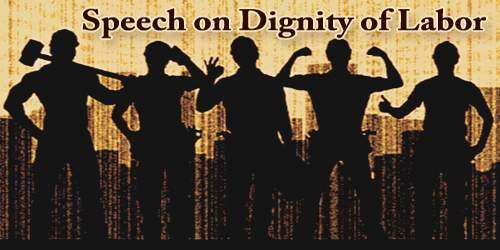 Dignity Of Labor (Speech)