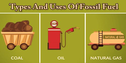 Types And Uses Of Fossil Fuel
