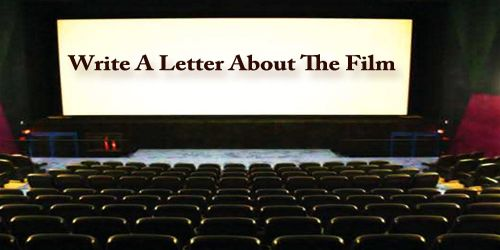 Write A Letter About The Film