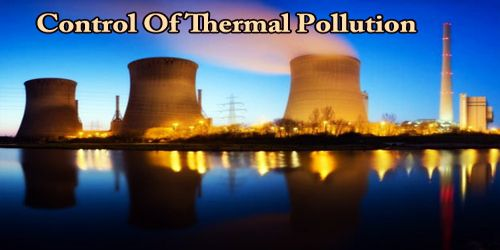 Control Of Thermal Pollution