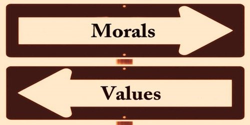 Differences Between Morals And Values