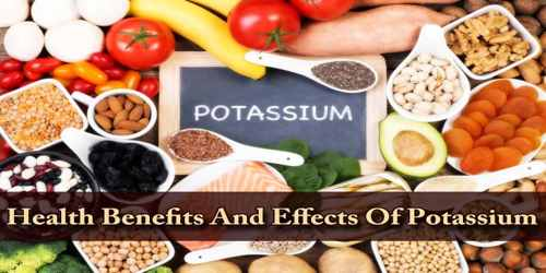 Health Benefits And Effects Of Potassium