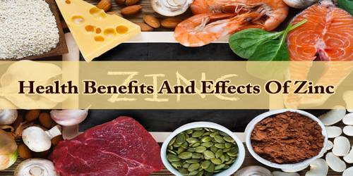 Health Benefits And Effects Of Zinc