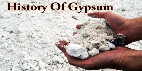 History Of Gypsum