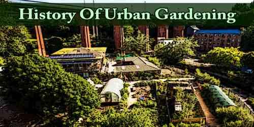 History Of Urban Gardening