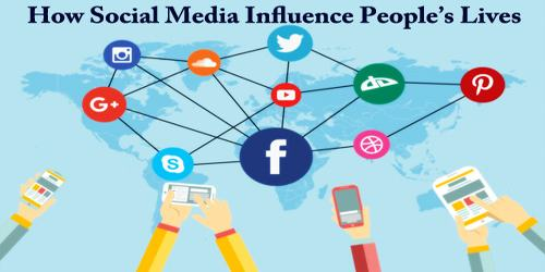 How Social Media Influence People's Lives