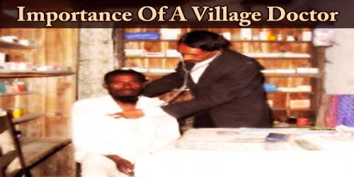 Importance Of A Village Doctor