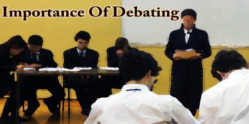 Importance Of Debating