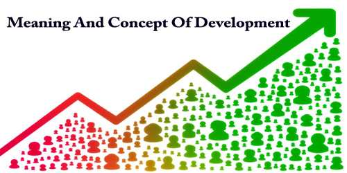 Meaning And Concept Of Development