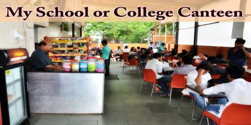 My School or College Canteen
