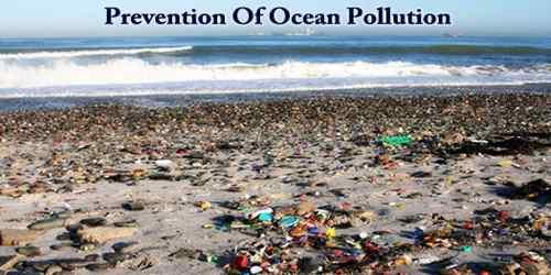 Prevention Of Ocean Pollution