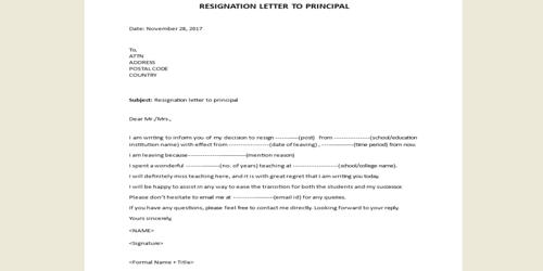 Sample Letter To Principal from www.assignmentpoint.com