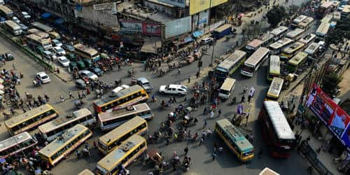 Street Accidents in Bangladesh