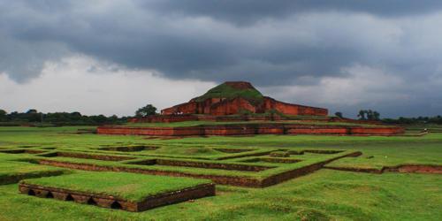A Visit to The Buddhist Vihara at Paharpur