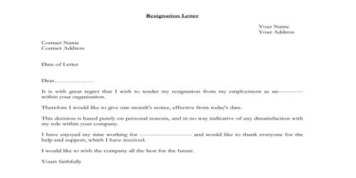 Format Of Regignation Letter from www.assignmentpoint.com