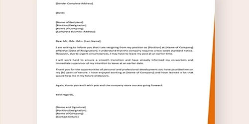 Personal Letter Of Resignation from www.assignmentpoint.com