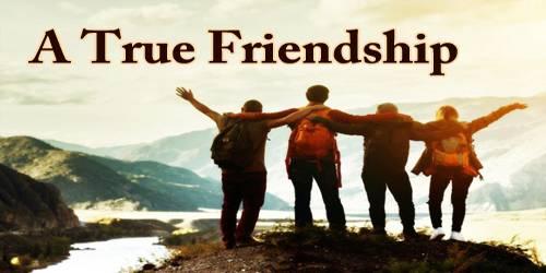A True Friendship