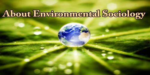About Environmental Sociology