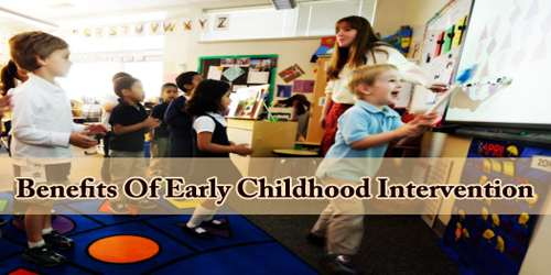 Benefits Of Early Childhood Intervention