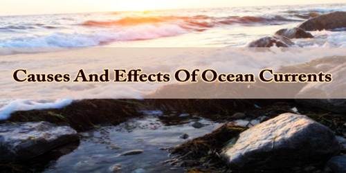 Causes And Effects Of Ocean Currents