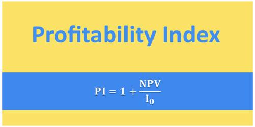 Concept of Profitability Index (PI)