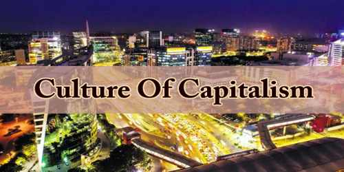 Culture Of Capitalism