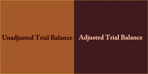 Difference Between Unadjusted And Adjusted Trial Balance
