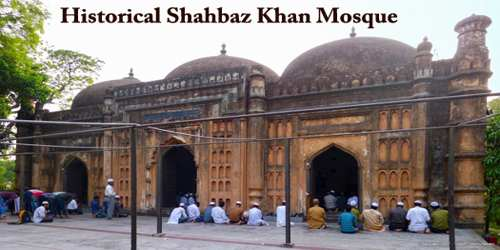Historical Shahbaz Khan Mosque