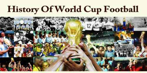 History Of World Cup Football