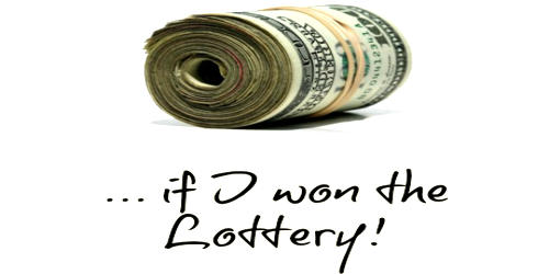 What I Would Do If I Won A Lottery