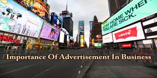 Importance Of Advertisement In Business