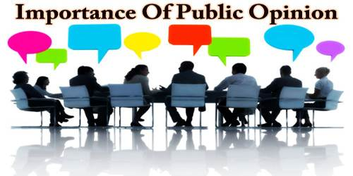 Importance Of Public Opinion