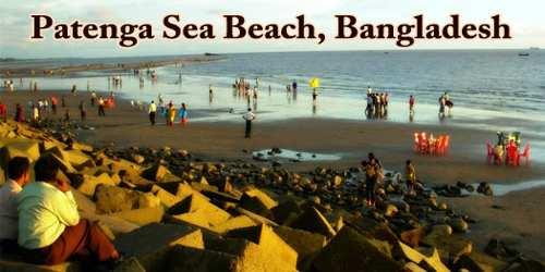 Patenga Sea Beach, Bangladesh