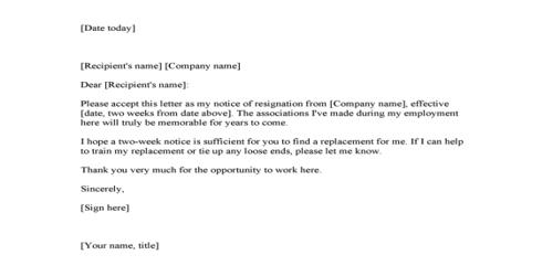 Thank You Resignation Letter from www.assignmentpoint.com