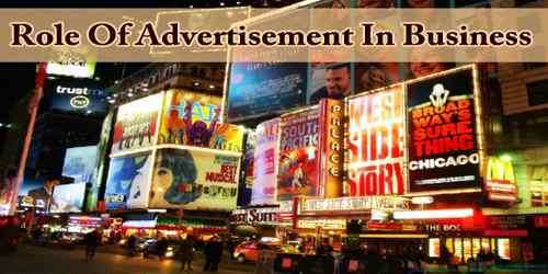 Role Of Advertisement In Business