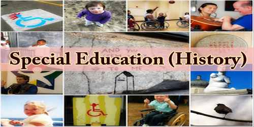 Special Education (History)