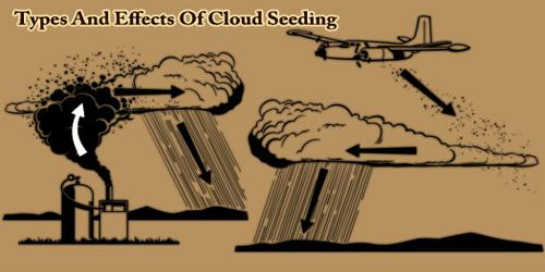 Types And Effects Of Cloud Seeding