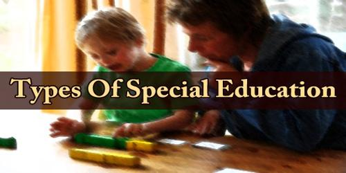Types Of Special Education